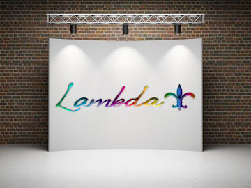 New Orleans Lambda Center logo designed by ImaginedAtom