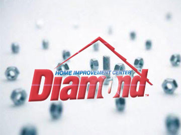 Diamond Home Improvement Center - Web Design by ImaginedAtom of New Orleans