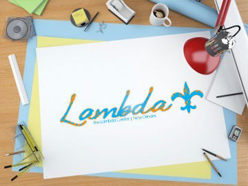 New Orleans Lambda Center print media designs by ImaginedAtom in New Orleans