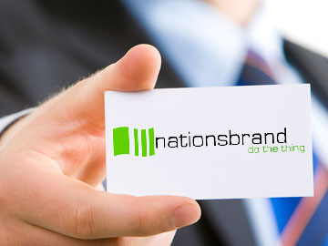 NationsBrand logo design by New Orleans' ImaginedAtom