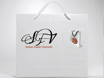 Steiner Family Vineyards Shop logo designed by I maginedAtom in New Orleans