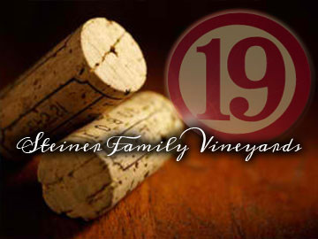 Steiner Family Vineyards - New Orleans website designed by ImaginedAtom