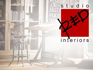 Studio Red Interiors - Website designed by ImaginedAtom of New Orleans