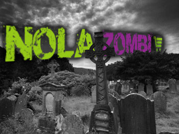 NOLA Zombi ecommerce online store designed by ImaginedAtom New Orleans
